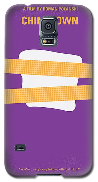 No015 My Chinatown Minimal Movie Poster Galaxy S5 Case