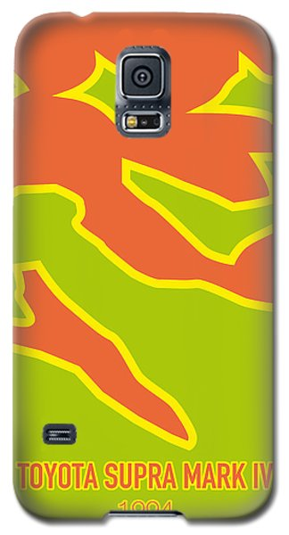 Duke Galaxy S5 Case - No017 My Fast And Furious Minimal Movie Car Poster by Chungkong Art