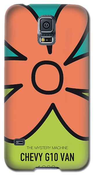 Duke Galaxy S5 Case - No020 My Scooby Doo Minimal Movie Car Poster by Chungkong Art