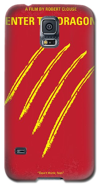 No026 My Enter The Dragon Minimal Movie Poster Galaxy S5 Case