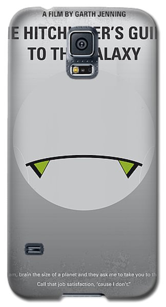 Aliens Galaxy S5 Case - No035 My Hitchhiker Guide Minimal Movie Poster by Chungkong Art