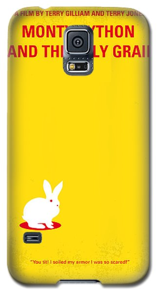 Rabbit Galaxy S5 Case - No036 My Monty Python And The Holy Grail Minimal Movie Poster by Chungkong Art