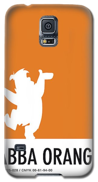 Mouse Galaxy S5 Case - No04 My Minimal Color Code Poster Fred Flintstone by Chungkong Art