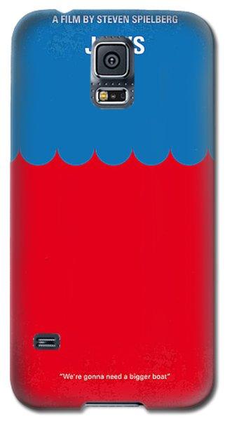 Nurse Shark Galaxy S5 Case - No046 My Jaws Minimal Movie Poster by Chungkong Art
