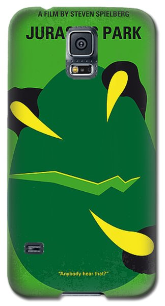 No047 My Jurassic Park Minimal Movie Poster Galaxy S5 Case