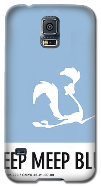 Mouse Galaxy S5 Case - No05 My Minimal Color Code Poster Road Runner by Chungkong Art
