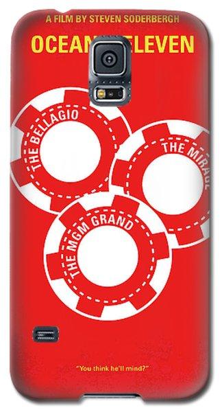No056 My Oceans 11 Minimal Movie Poster Galaxy S5 Case