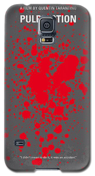 No067 My Pulp Fiction Minimal Movie Poster Galaxy S5 Case