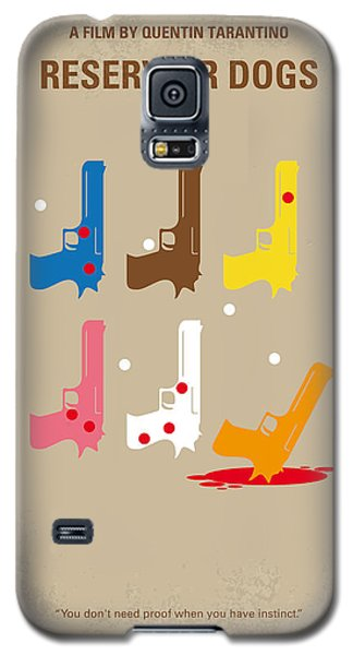 No069 My Reservoir Dogs Minimal Movie Poster Galaxy S5 Case