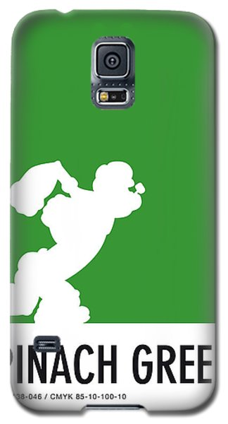 Mouse Galaxy S5 Case - No07 My Minimal Color Code Poster Popeye by Chungkong Art