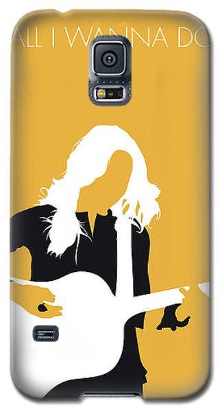 Crow Galaxy S5 Case - No074 My Sheryl Crow Minimal Music Poster by Chungkong Art