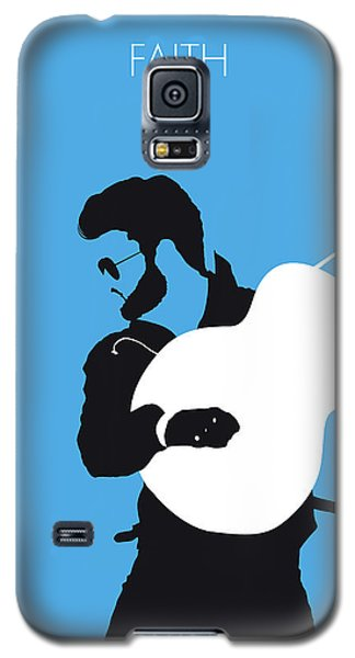 Rhythm And Blues Galaxy S5 Case - No089 My George Michael Minimal Music Poster by Chungkong Art
