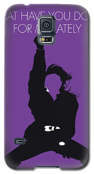 Rhythm And Blues Galaxy S5 Case - No091 My Janet Jackson Minimal Music Poster by Chungkong Art