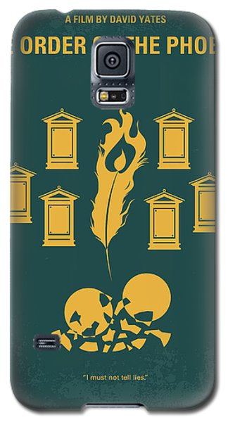 No101-5 My Hp - Order Of The Phoenix Minimal Movie Poster Galaxy S5 Case by Chungkong Art