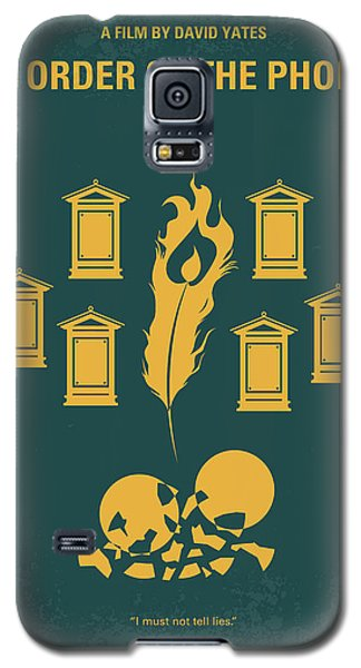 No101-5 My Hp - Order Of The Phoenix Minimal Movie Poster Galaxy S5 Case