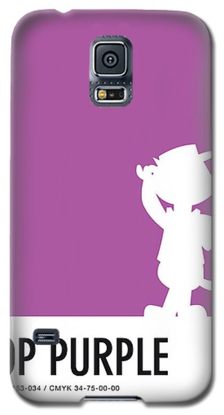 Mouse Galaxy S5 Case - No11 My Minimal Color Code Poster Top Cat by Chungkong Art