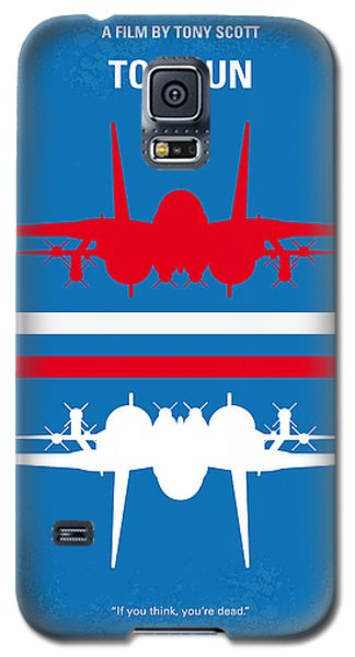 No128 My Top Gun Minimal Movie Poster Galaxy S5 Case