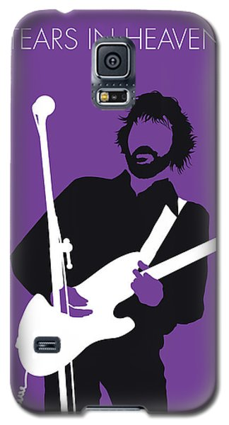 Eric Clapton Galaxy S5 Case - No141 My Eric Clapton Minimal Music Poster by Chungkong Art