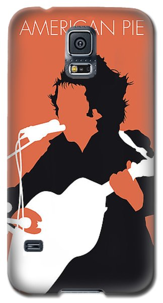 No143 My Don Mclean Minimal Music Poster Galaxy S5 Case