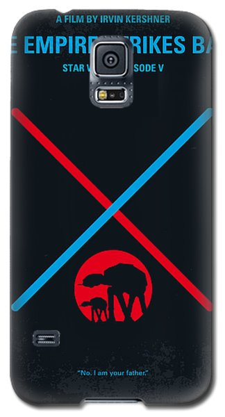 No155 My Star Wars Episode V The Empire Strikes Back Minimal Movie Poster Galaxy S5 Case by Chungkong Art