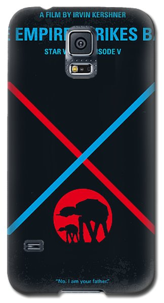No155 My Star Wars Episode V The Empire Strikes Back Minimal Movie Poster Galaxy S5 Case