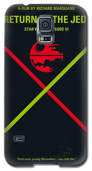 No156 My Star Wars Episode Vi Return Of The Jedi Minimal Movie Poster Galaxy S5 Case