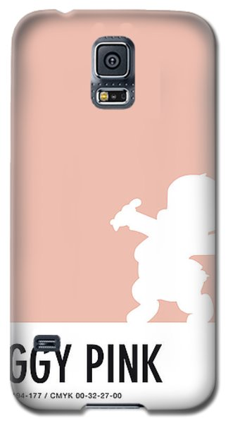 Mouse Galaxy S5 Case - No17 My Minimal Color Code Poster Porky Pig by Chungkong Art