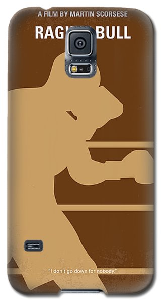 Bull Galaxy S5 Case - No174 My Raging Bull Minimal Movie Poster by Chungkong Art