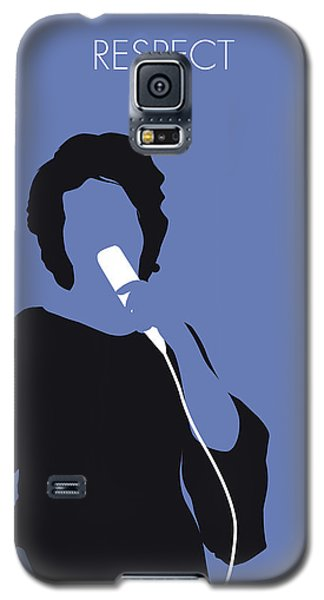 Rhythm And Blues Galaxy S5 Case - No188 My Aretha Franklin Minimal Music Poster by Chungkong Art