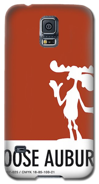 Mouse Galaxy S5 Case - No19 My Minimal Color Code Poster Bullwinkle by Chungkong Art