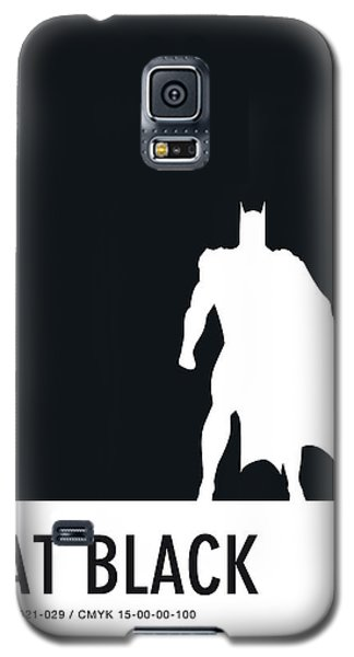 Spider Galaxy S5 Case - No20 My Minimal Color Code Poster Batman by Chungkong Art