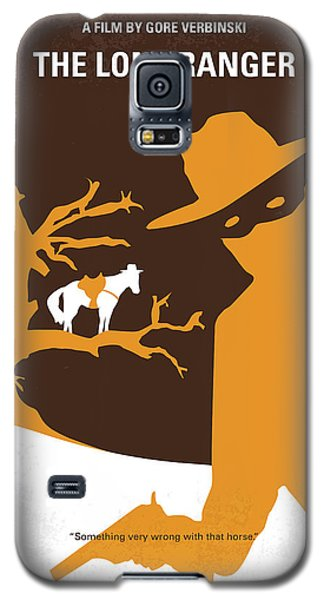 No202 My The Lone Ranger Minimal Movie Poster Galaxy S5 Case by Chungkong Art