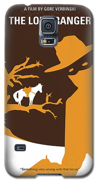Johnny Depp Galaxy S5 Case - No202 My The Lone Ranger Minimal Movie Poster by Chungkong Art