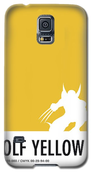 Spider Galaxy S5 Case - No21 My Minimal Color Code Poster Wolverine by Chungkong Art