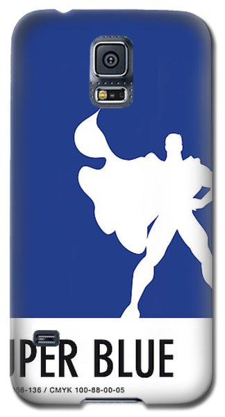 Spider Galaxy S5 Case - No23 My Minimal Color Code Poster Superman by Chungkong Art