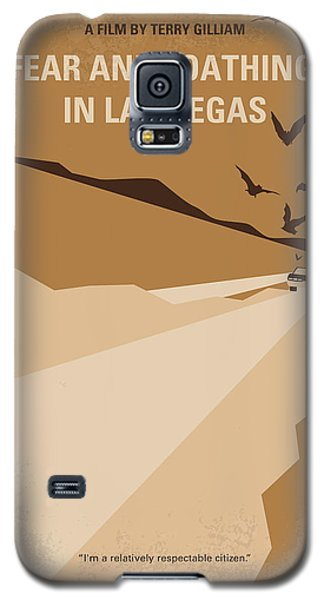 Johnny Depp Galaxy S5 Case - No293 My Fear And Loathing Las Vegas Minimal Movie Poster by Chungkong Art