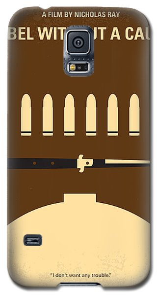 No318 My Rebel Without A Cause Minimal Movie Poster Galaxy S5 Case by Chungkong Art