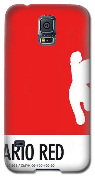 Daisy Galaxy S5 Case - No33 My Minimal Color Code Poster Mario by Chungkong Art