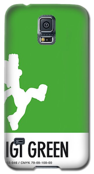 Daisy Galaxy S5 Case - No34 My Minimal Color Code Poster Luigi by Chungkong Art