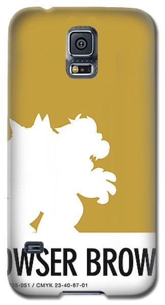 Daisy Galaxy S5 Case - No38 My Minimal Color Code Poster Bowser by Chungkong Art
