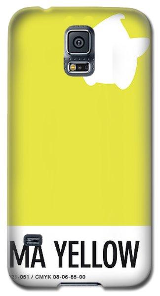 Daisy Galaxy S5 Case - No40 My Minimal Color Code Poster Luma by Chungkong Art