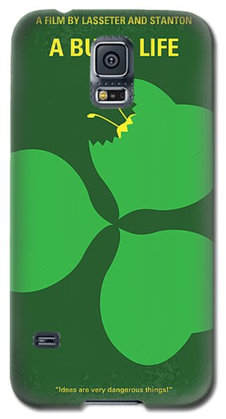 No401 My A Bugs Life Minimal Movie Poster Galaxy S5 Case by Chungkong Art