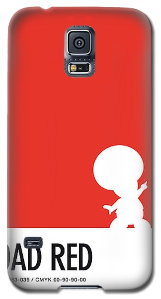 Daisy Galaxy S5 Case - No41 My Minimal Color Code Poster Toad by Chungkong Art