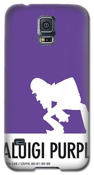 Daisy Galaxy S5 Case - No42 My Minimal Color Code Poster Waluigi by Chungkong Art