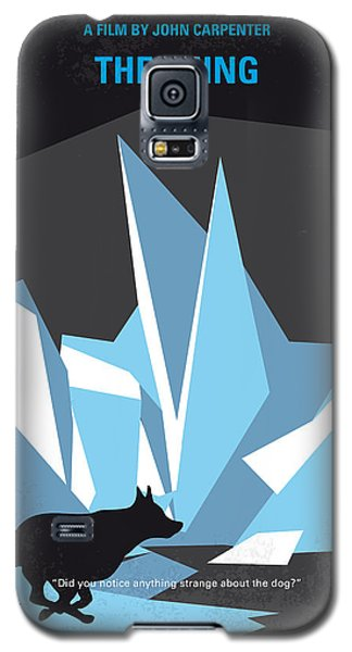 No466 My The Thing Minimal Movie Poster Galaxy S5 Case by Chungkong Art