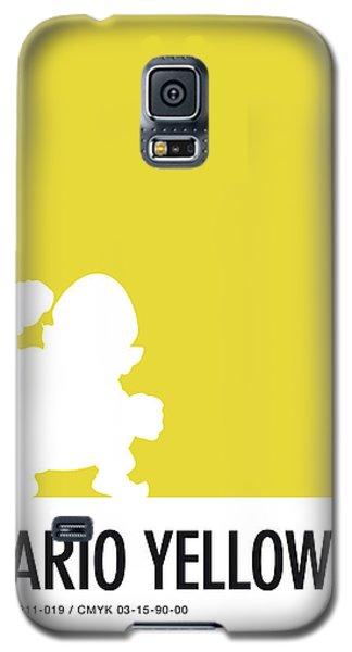 Daisy Galaxy S5 Case - No43 My Minimal Color Code Poster Wario by Chungkong Art