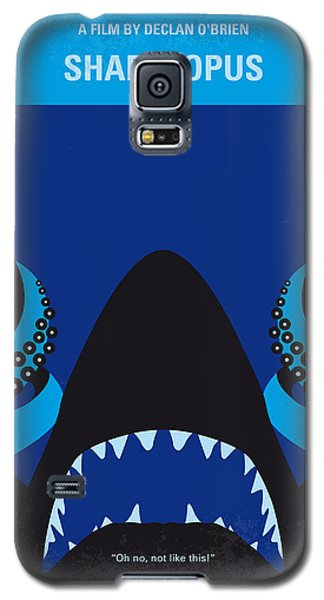 No485 My Sharktopus Minimal Movie Poster Galaxy S5 Case