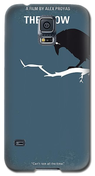 Crow Galaxy S5 Case - No488 My The Crow Minimal Movie Poster by Chungkong Art