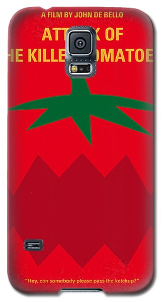 Tomato Galaxy S5 Case - No499 My Attack Of The Killer Tomatoes Minimal Movie Poster by Chungkong Art