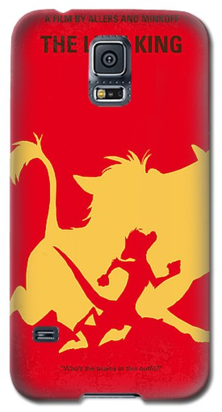 No512 My The Lion King Minimal Movie Poster Galaxy S5 Case by Chungkong Art